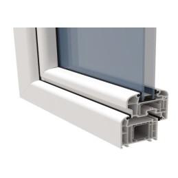 PVC-Fensterbauschrauben. Reduzierter Kopf mit 7 mm Durchmesser
