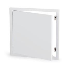 Revisionsklappen für Gipskartonplatten. Weiss lackiert (RAL 9016)