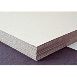 Graukarton 500 gm2, 80 x 120 cm auf Paletten-Typ Nr. 4, WB gebündelt zu 100kg