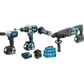 Makita 3 Tool Kit SET 18V