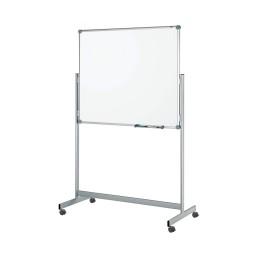 Mobiles Whiteboard Pro Fixed Kunststoffbeschichte Grau