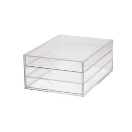 Schubladenbox Acryl Glasklar