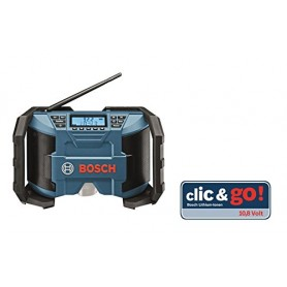 Bosch PowerBox GML 12V/10.8V Li Baustellenradio