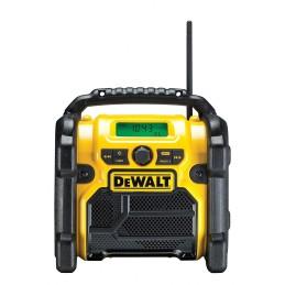 Dewalt Akku und Netz Radio DCR019 Baustellenradio