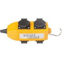 Steckdosen-Powerblock 230 V/10 A Ip 44