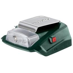 Akku-Power-Adapter Karton, Mit 12 V-Anschluss Und Led-Licht