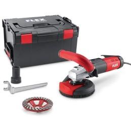 Flex-Tools Kompakter Sanierungsschleifer für randnahes, staubfreies Schleifen, 125 mm