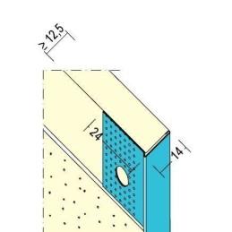 Abschlussprofil TB Trimm-L für 12.5mm GKB