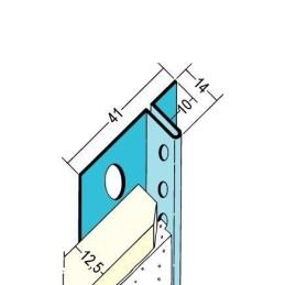 Anschlussprofil TB, für 12.5mm GKB, 10mm Schattenfugenschenkel
