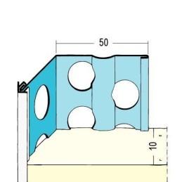 Kantenprofil Aussenputz ab 10mm Putzdicke