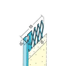Putzabschlussprofil Innen ab 10mm Putzdicke