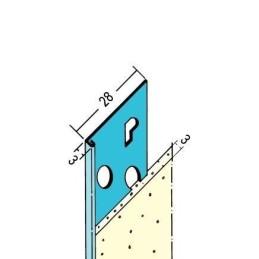 Putzabschlussprofil Innen ab 3mm Putzdicke