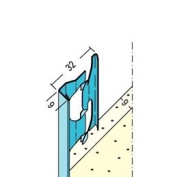 Putzabschlussprofil Innen ab 9mm Putzdicke