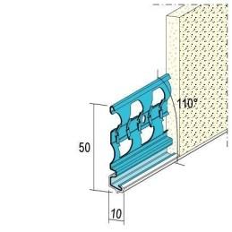 Sockelprofil für Aussenputz ab 10mm Putzdicke