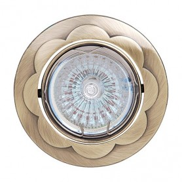 CLOVER-G5.3-Golden-50W-Halogen Projektoren / Strahler