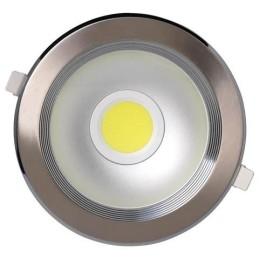 HELEN-10W-Mat Chrom-10W-LED Strahler / LED Solarleuchten