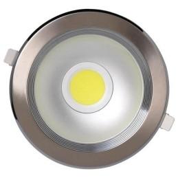 HELEN-8W-Mat Chrom-8W-LED Strahler / LED Solarleuchten