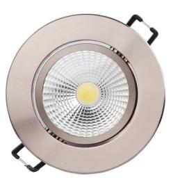 LILYA-5W-Chrom-LED Strahler / LED Solarleuchten