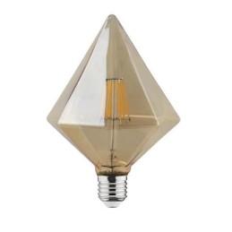RUSTIC PYRAMID-6W-E27-2200 K-LED Filament / LED Einbauleuchten