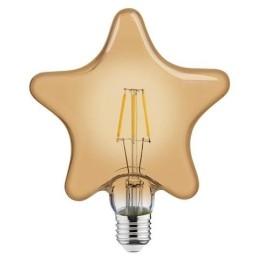 RUSTIC STAR-6W-E27-2200 K-LED Filament / LED Einbauleuchten