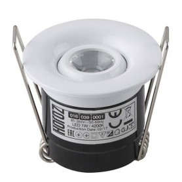 SILVIA-Chrom-1W-LED Strahler / LED Solarleuchten