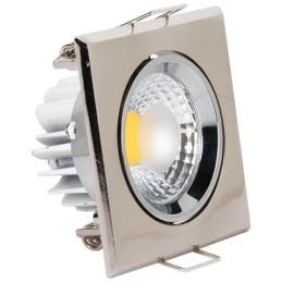 VICTORIA-5W-Mat Chrom-LED Strahler / LED Solarleuchten