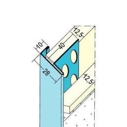 Einfass- & Abschlussprofil TB, für 2x12.5mm GKB