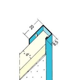 Einfassprofil TB für 12.5mm GKB