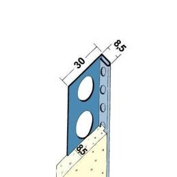 Fliesenabschlussprofil ab 8mm Putzdicke