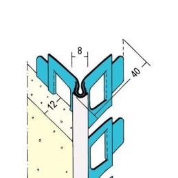 Kantenprofil Innen- & Aussenputz ab 12mm Putzdicke