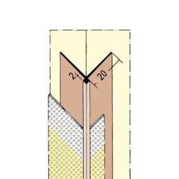 Tapetenkantenprofil TB bis 2mm Tapetenstärke