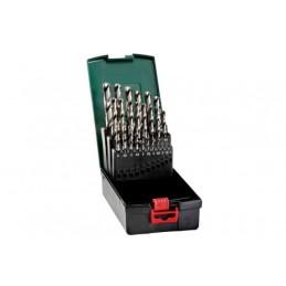 HSS-G-Bohrerkassette, 25-teilig