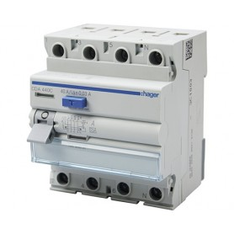 HAGER FI Schalter 30mA 40A 4-polig