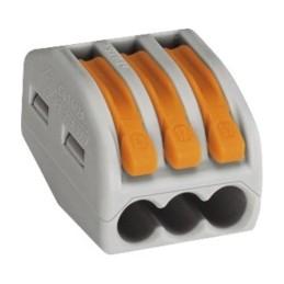 Verbindungsklemme Wago 3x0,08-2,5mm² 50 Stück