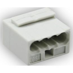 Steckklemme 4x0,6-0,8 mm2 10 Stk