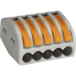 Verbindungsklemmen Wago 5x0,08-4,0mm² 40 Stück