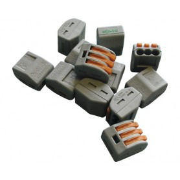 Steckklemme Wago 3x0.08-2.5mm² 5 Stück