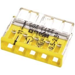 Steckklemme Wago 2273-205 5x0.5-2.5mm² 25 Stück