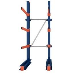 KRAGARMREGAL EINFACH GRUNDELEMENT 3m hoch / 80cm arm