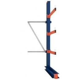 KRAGARMREGAL EINFACH ANBAUELEMENT 3m hoch / 80cm arm