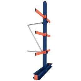 KRAGARMREGAL DOPPELSEITIG ANBAUELEMENT 3m hoch / 80cm arm