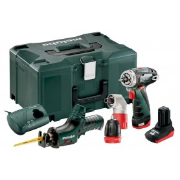 Akku-Maschinen İm Set Metaloc, Powermaxx Bs Quick + PowermaxxAse