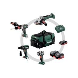Akku-Maschinen İm Set Werkzeugtasche, Gb 18 Ltx Bl Q I + Wb 18 Ltx Bl 125 Quick + Ssw 18 Ltx 400 Bl + Ula