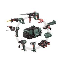 Akku-Maschinen İm Set Werkzeugtasche, Sb 18 Ltx + Kha 18 Ltx + W 18 Ltx 125 Quick +Ase 18 Ltx + Ssw 18 Ltx 300 Bl + Ula