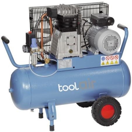 Kompressor 230 Volt, Tank 50 Lt, 420 Lt/Min