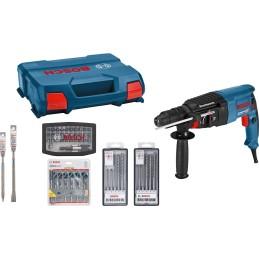 Bohrhammer GBH 2-26 F Professional, Set inkl. Bohrer + Meissel
