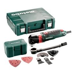 Metabo Multitool MT 400 Quick Set für Holz + Kunststoffkoffer