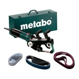 Metabo Rohrbandschleifer RBE 9-60 Set Stahlblech-Tragkasten