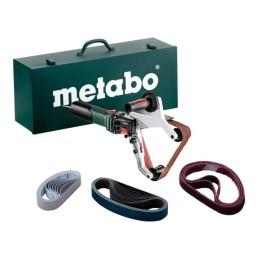 Metabo Rohrbandschleifer RBE 15-180 Set Stahlblech-Tragkasten