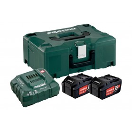 Chargeur 92604300040 Fein Batterie Starter-set 18 V 2x 2,5 Ah Batterie